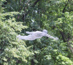 Gorky Park - decorazione con uomo volante