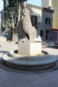 Il Gallo di Gallura in Piazza del Popolo