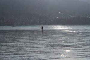 Lago di Thun - giochi di luce
