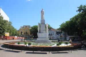Memoriale per lo Zar Jovan Nenad - panoramica