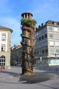 Meret Oppenheim Fountain