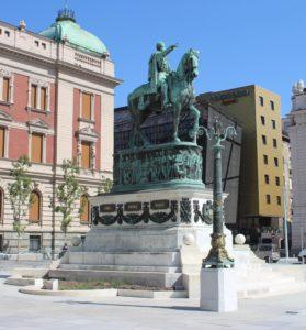 Monumento Equestre al Principe Mihailo