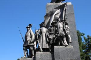 Monumento a Taras Shevchenko - dettaglio 1