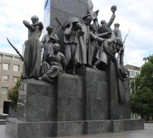 Monumento a Taras Shevchenko - dettaglio 2