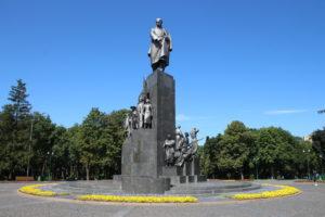 Monumento a Taras Shevchenko - fronte