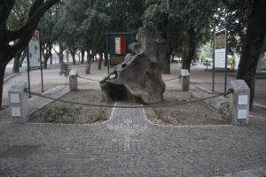 Monumento nel Parco delle Rimenbranze