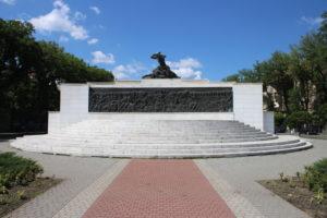 Monumento per le Vittime del Fascismo - fronte