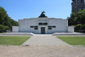 Monumento per le Vittime del Fascismo - retro