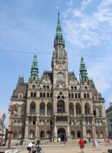 Municipio di Liberec - fronte