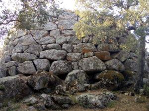 Nuraghe Majori - dettaglio della struttura