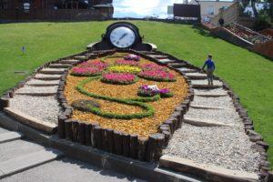 Orologio floreale nel Sarzhin Yar