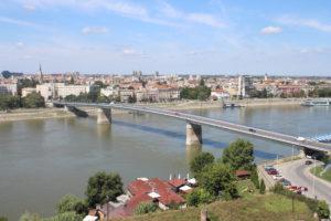 Scorcio su Novi Sad dalla Fortezza