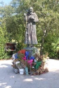 Scultura per Padre Pio