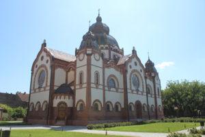 Sinagoga di Subotica - retro