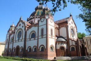 Sinagoga di Subotica - fronte