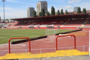 Stadio Karadjordjev di Novi Sad - panoramica interna