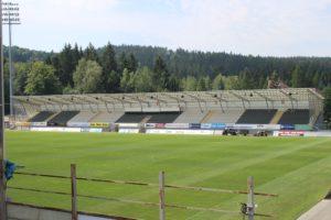 Stadio di Jablonec - scorcio