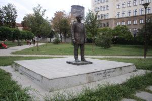 Statua in onore di Gavrilo Princip