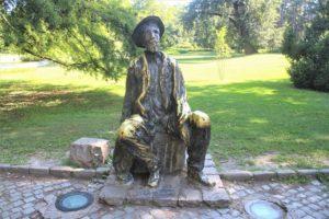 Statua omaggio a Djura Jaksic