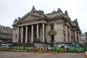 Borsa di Bruxelles tra i lavori in corso