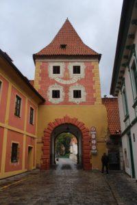 Budejovicka Gate - lato interno