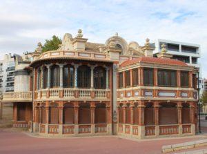 Casa Solans - corpo centrale e retro