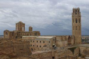 Cattedrale Antica di Lleida - vista dal bastione