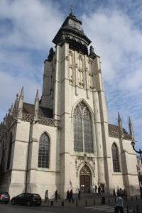 Chiesa di Notre Dame de la Chapelle - vista frontale