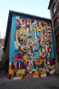 Dipinto Murale nascosto