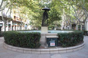 Fontana di Paseo de la Constitucion