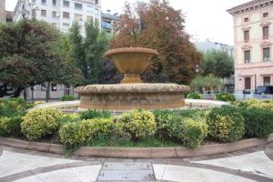 Fontana in Plaça de la Pau Casals
