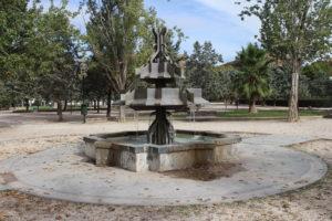 Fontana nel Parque de l'Aljeferia