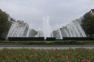 Fontana nella Rotonda Stradale