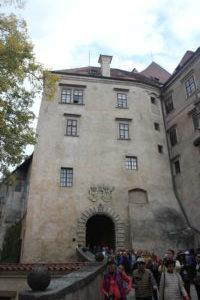 Ingresso del Castello dopo il cortile