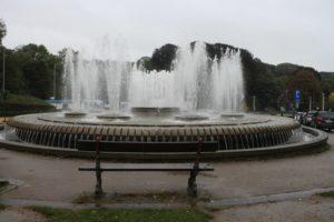 La Fontana senza l'Atomium