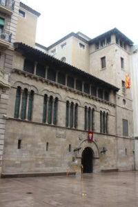 La Paeria - lato centro storico
