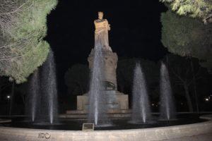 Monumento per Re Alfonso I° il battagliero