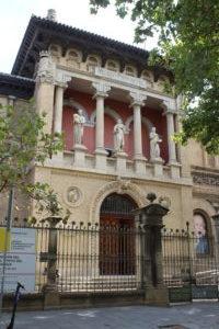 Museo di Saragozza - Ingresso