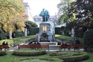 Piazza-Giardino Petit Sablon