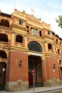 Plaza de Toros di Saragozza - ingresso