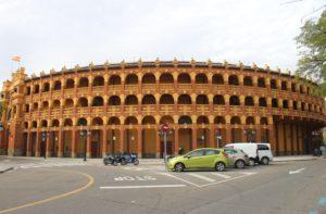 Plaza de Toros di Saragozza - panoramica