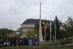 Raduno presso il Memoriale per i caduti della guerra di Corea