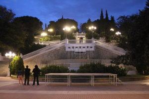 Scalinata al Parco Grande Antonio Labordeta