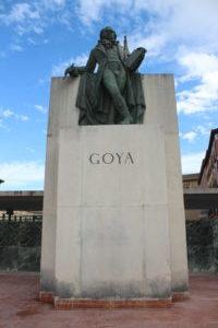 Scultura per Francisco de Goya