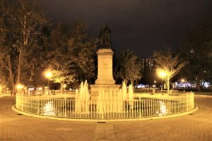 Statua-Fontana per Ramon Pignatelli