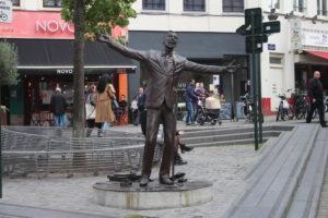 Statua di Jacques Brel
