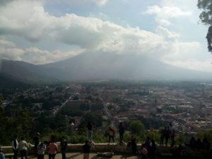 Antigua vista dal Cerro de la Cruz