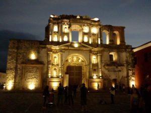 Antiguo Colegio de la Compania de Jesus - vista notturna