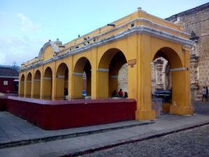 Ex lavatoio pubblico ad Antigua