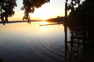 Il tramonto...del trampolino